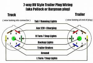 7 Pin Connector Trailer Charger