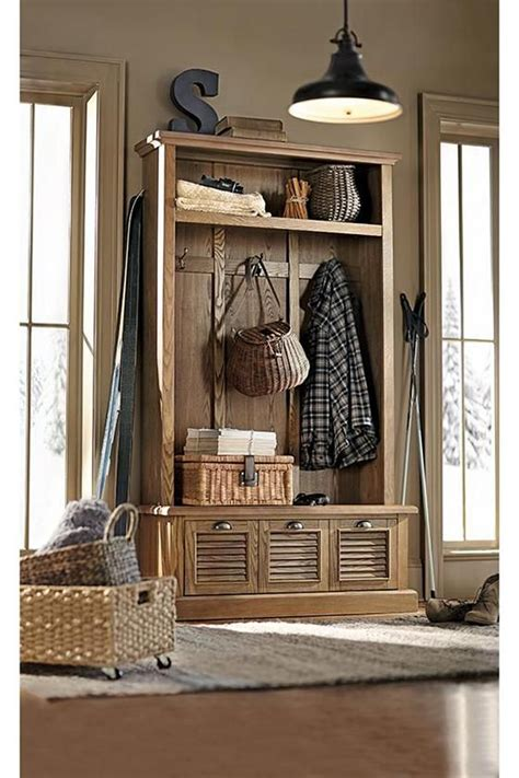 Hallway Organization And Entryway Furniture Collection by Shutter Locker Style Mudroom Storage Unit From Home