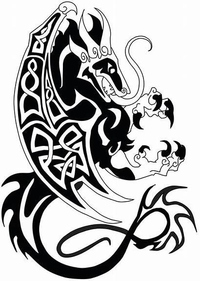 Celtic Dragon Knot Designs Deviantart Commish Clipart