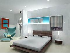Style Kitchen Simple Futuristic Bedroom Interior Rendering In 3ds Max 9