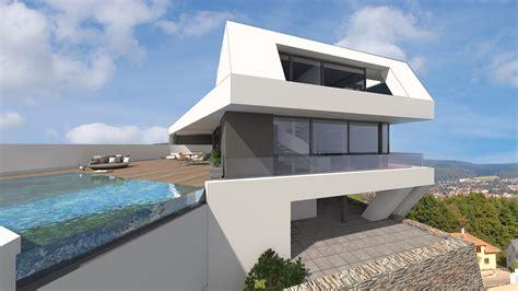 Moderne Häuser Im Hang by Architektenhaus Am Hang Im Odenwald