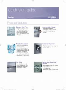 Download Free Pdf For Samsung Rf4287ha Refrigerator Manual