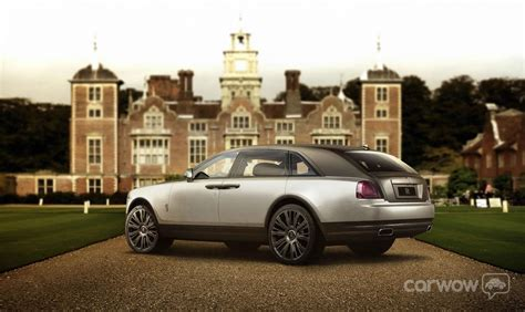rolls royce suv what if the new rolls royce suv looked like this