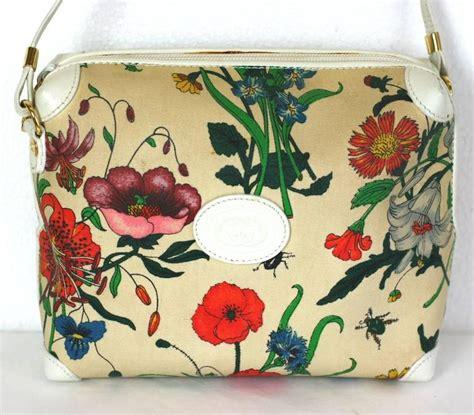 gucci floral print mini shoulder bag  stdibs