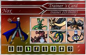 Nox Trainer Card V2 By Lord Lavrahtheen On Deviantart
