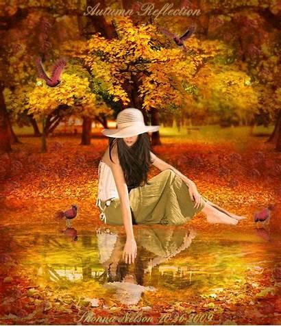 Autumn Nature Leaves Natur Autum Fall Animated