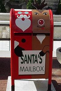 santa claus is coming to downtown indy downtown indy blog With letters to santa mailbox green