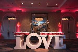 composer eric jasper39s modern wedding in los angeles With letter table base rental