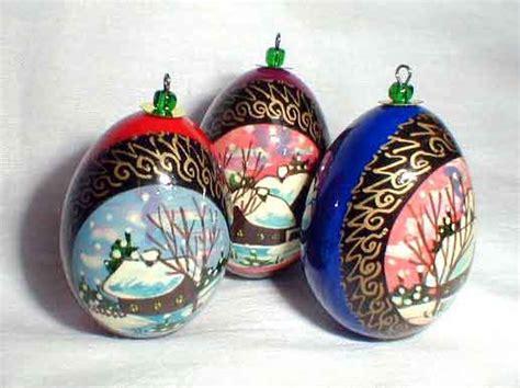 egg christmas ornament russian legacy
