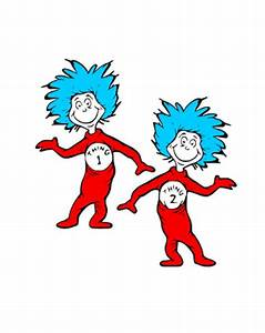 Image - Dr-seuss-clipart-thing-1-and-thing-2-14.jpg | Dr ...