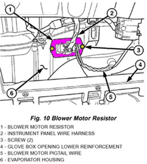 dodge durango heater fan not working my 2006 dodge ram 2500 diesel heater blower stopped
