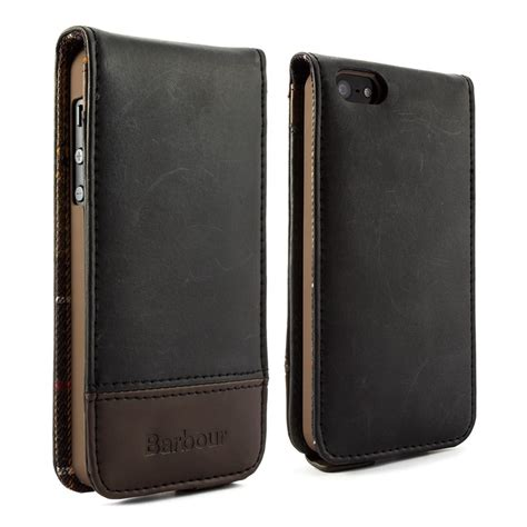 iphone 5 leather barbour iphone 5 5s leather flip
