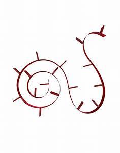 Kartell bookworm rosso vino librerie librerie design