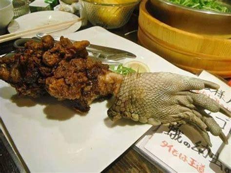 alligator cuisine alligator cooked in restaurant food