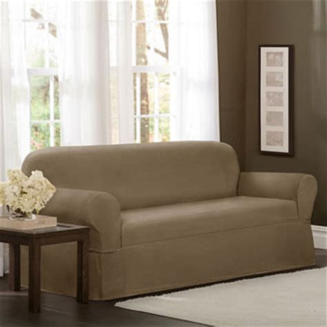 jcpenney slipcover sectional sofa maytex smart cover stretch torre sofa slipcover jcpenney