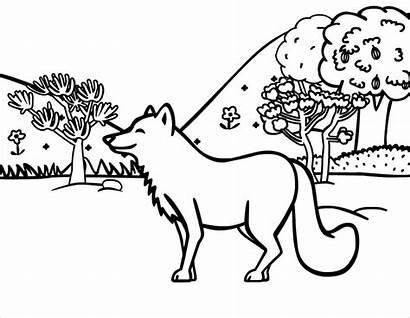 Coloring Fox Printable