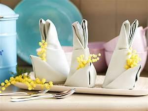 Servietten Falten Ostern Tischdeko : servietten falten zu ostern h schen und co lecker ~ Eleganceandgraceweddings.com Haus und Dekorationen