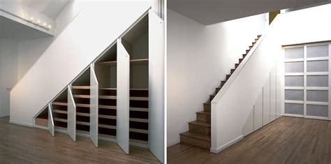 Storage Design Ideas by The Stairs Storage Ideas To Maximize Functional