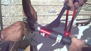 Cable Garde Corps : sertir des c bles inox pour garde corps youtube ~ Voncanada.com Idées de Décoration