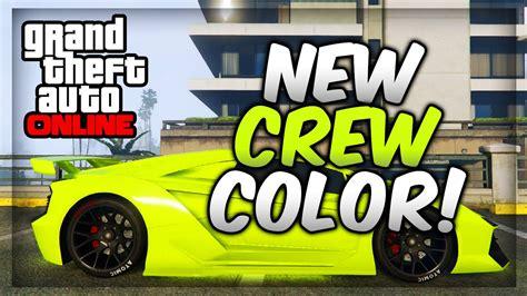 gta 5 crew colors gta 5 paint best modded crew colors 19