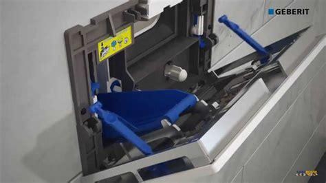 vlotter geberit afstellen montage geberit inbouwreservoir duofresh