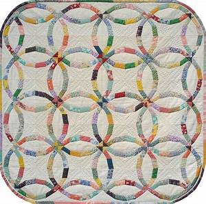 scarlett39s double by scarlett rose quilting pattern With double wedding ring quilt template