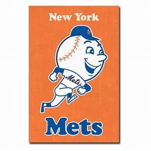 New York Mets Retro Logo 11 Wall Poster