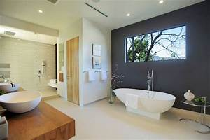 Modele de salle de bain 30 designs luxueux et elegants for Salle de bain design avec billes de verre décoratives