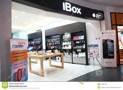 ibox outlet  cilandak town square jakarta editorial