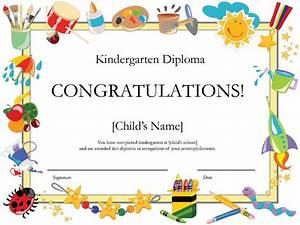 kindergarten graduation certificate | Free Printable ...