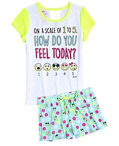 9 best my emoji party images on Pinterest | Fashion for girls Girls pyjamas and Justice stuff