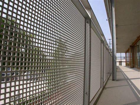 lochblechfassade lochblech balkonverkleidung und balkon