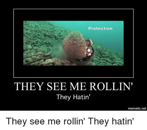 They See Me Rollin They Hatin Meme - protection they see me rollin they hatin mematicnet dank meme on sizzle