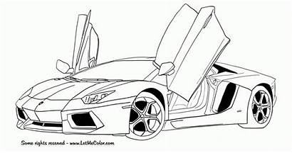 Coloring Cars Lamborghini