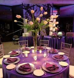 decoration table mariage chetre purple table decoration idea for a lovely wedding