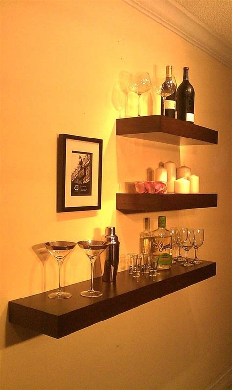 Bar Shelf Ideas by 40 Insanely Cool Floating Shelf Ideas For Your Home