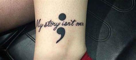 Permalink to Tattoo Semicolon Significado