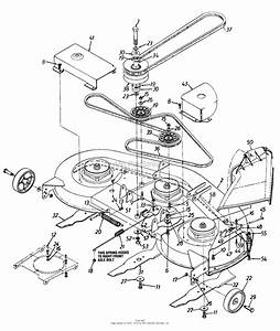 Mtd 1363694h701  1996  Parts Diagram For Deck Assembly H  U0026 Blades