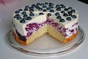 Heidelbeer Quark Torte im Zebralook von moosmutzel311