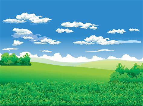 landscape background vector art graphics freevectorcom