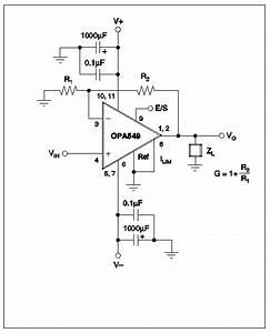 opa541 parts placement guide and pcb foil pattern With circuit diagram for 300w subwoofer power amplifier by rod elliott