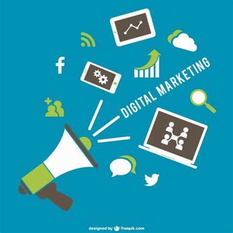 free digital marketing digital marketing icons vector free