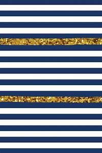 Gold and Navy Wallpaper - WallpaperSafari