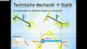 Scherenhubtisch Berechnen : technische mechanik grundlagen statik nachhilfe youtube ~ Themetempest.com Abrechnung