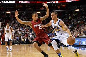 Heat Vs Warriors Curry Makes It Hot In Miami