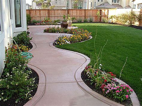 patio border landscape ideas inexpensive landscaping