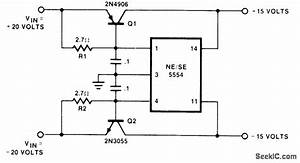 U00b115v Tracking - Power Supply Circuit