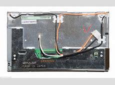 BMW NAVIGATION MONITOR RADIO DISPLAY 169 WIDE SCREEN LCD