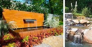Wasserlauf Im Garten : wasser garten wasserspiele wasserlauf schwimmteich lauterwasser gartenbau landschaftsbau ~ Orissabook.com Haus und Dekorationen