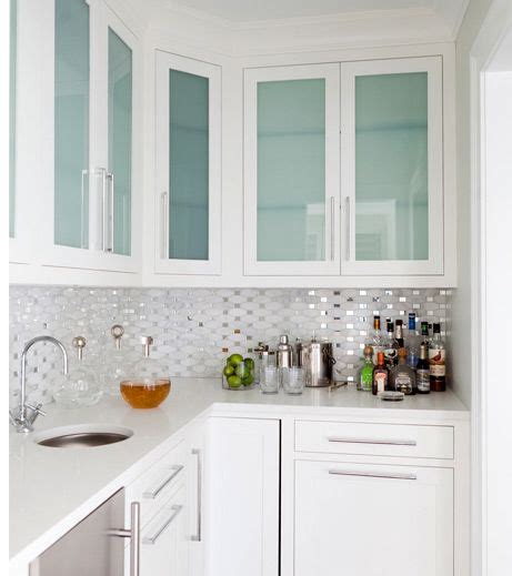 white kitchen cabinets with glass doors 25 best ideas about glass cabinet doors on